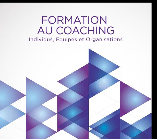 formation au coaching d'individus, d'équipes et d'organisations